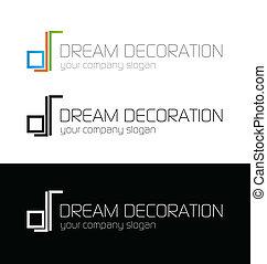 Dream decoration logo template