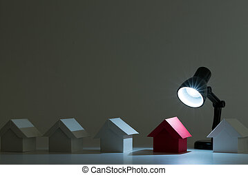 Dream house in spotlight