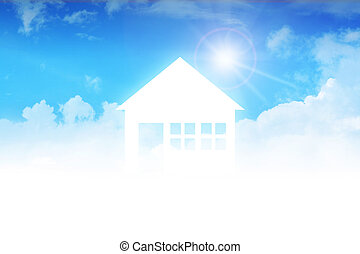 Dream House - Dream house on clouds, concept design for real...
