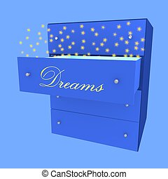 Dream in drawer