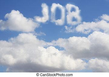 Dream of job - Conceptual image - dream of job