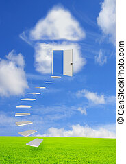 Conceptual image - dream of own house