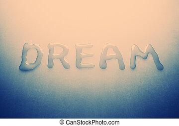 Dream, retro tinted photo