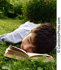 Dream - Teen with book