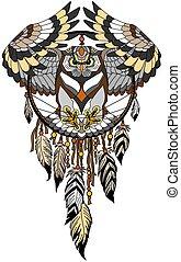 dreamcatcher with owl
