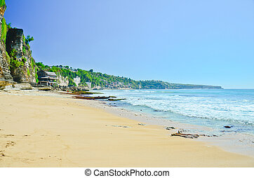 Dreamland beach in Bali  - Dreamland beach in Bali