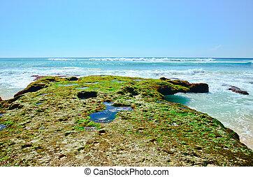Dreamland beach in Bali  - Dreamland beach in Bali