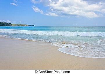 Dreamland beach in Bali, Indonesia