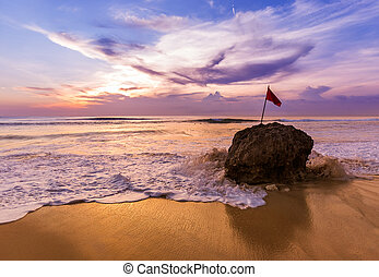 Dreamland Beach in Bali Indonesia