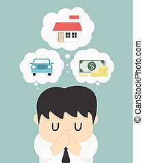 Dreams of a businessman