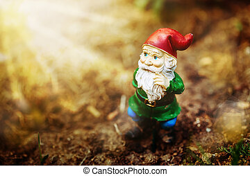 Dreamy garden dwarf