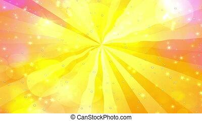 dreamy waves sunbeam motion warm ra
