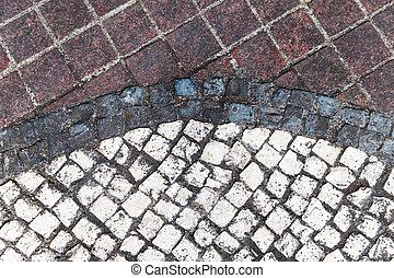 Fußboden Aus Stein ~ Mosaik stein dreckige fussboden mosaik stein tapete