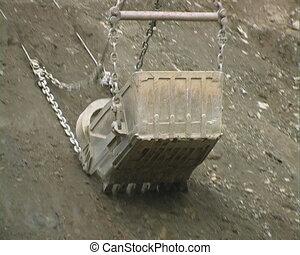 Dredge bucket.