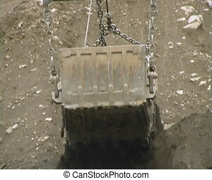 Dredge bucket.
