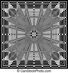dreidimensional, struktur