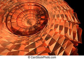 dreidimensionale form