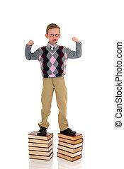 dreng, bog, unge, vidunderbarn