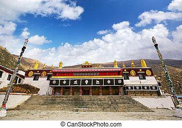 Drepung Monastery - Drepung Tsogchen Lhakhang, the main...