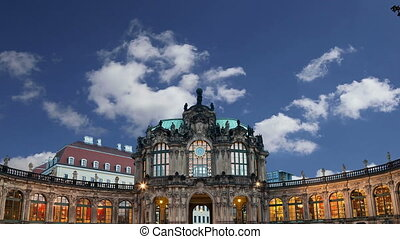 dresde, palais, zwinger, allemagne