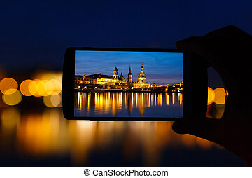Dresden in frame