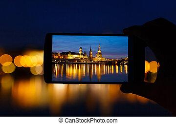 Dresden in frame