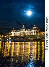 \Dresden in night