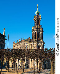 Dresdner cathedral - Hofkirche (Germany)