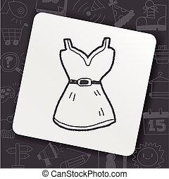 dress doodle