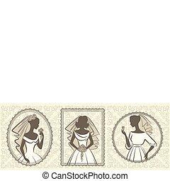 dress., noiva, bonito