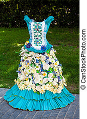 Dress of flowers