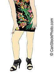 Dress of Flowers