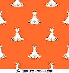 Dress pattern seamless