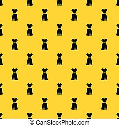 Dress pattern vector