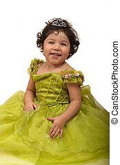 Dress Up - Girl playing dress up ( little princess)