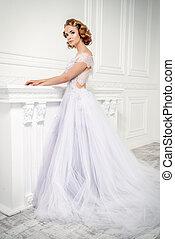 dress with lush skirt
