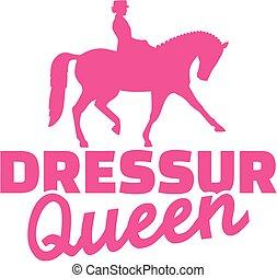 Dressage queen german