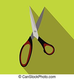 Dressmake shear flat icon