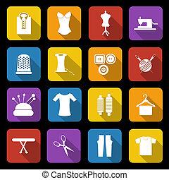 Dressmaking icons