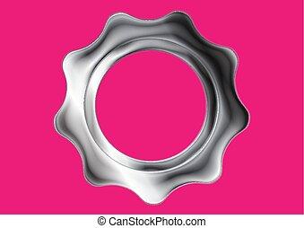 drev, metall, bakgrund, abstrakt, silver, rosa