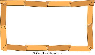 drewniana budowa, rubryczka