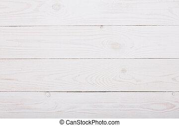 drewniany, biały, deska, tło