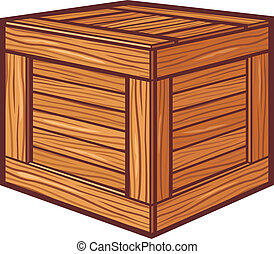 drewniany boks