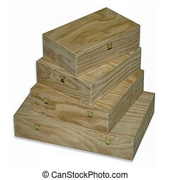 drewniany, kabiny