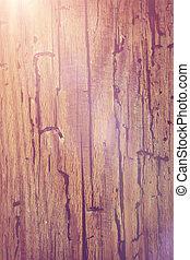 drewniany, lekki, abstrakcyjny, tło, migotać