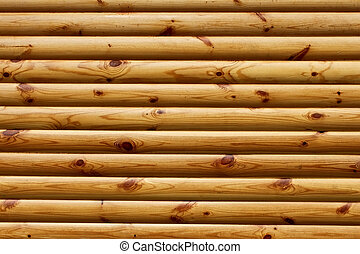 drewniany, obyty, paralela, kloce