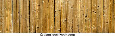 drewniany, panoramiczny, struktura