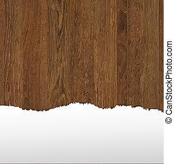 drewniany, papier, poduszeczka