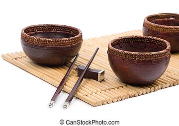 drewniany puchar
