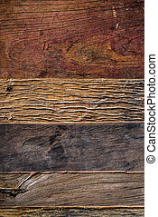 drewniany, sędziwy, tło, nad, deski